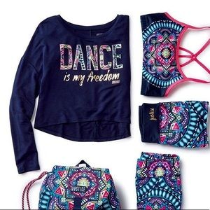 """Dance Is My Freedom"" Active Top"